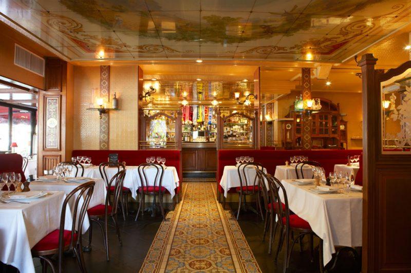 Restaurants parisiens restaurants traditionnels parisiens ambassadeurs du fait maison - Chez georges porte maillot ...
